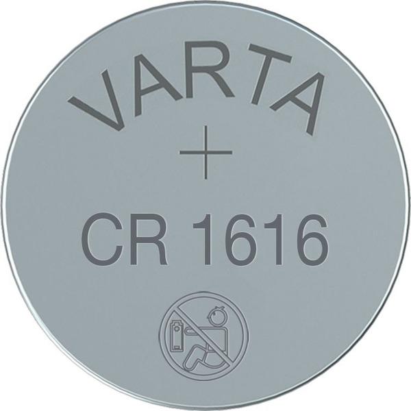 VARTA ELECTRONICS CR1616 Blister 1