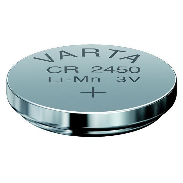 Varta Lithium-Knopfzelle CR2450