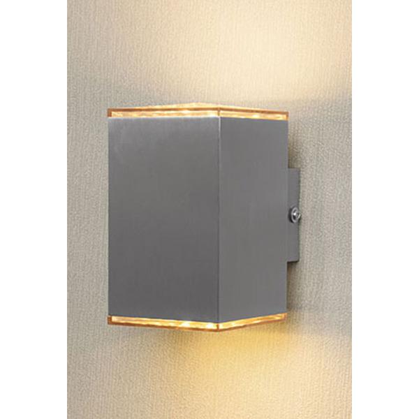 ELV LWE 450 6-W-LED-Wandleuchte, warmweiß. 2-flammig
