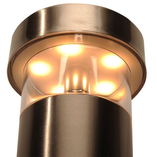 ELV SWL 400F 8-W-LED-Sensor-Fackelleuchte mit 90°-Bewegungsmelder und Dämmerungssensor, warmweiß