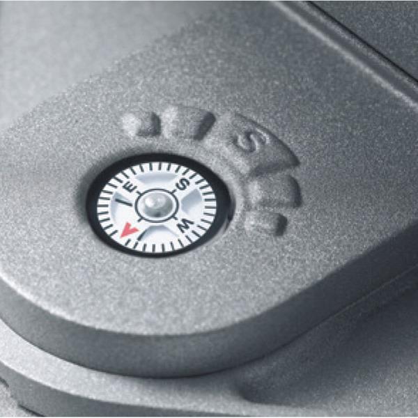 Steinel XSolar GL-S Solar-LED-Standleuchte, höhenverstellbar, silber