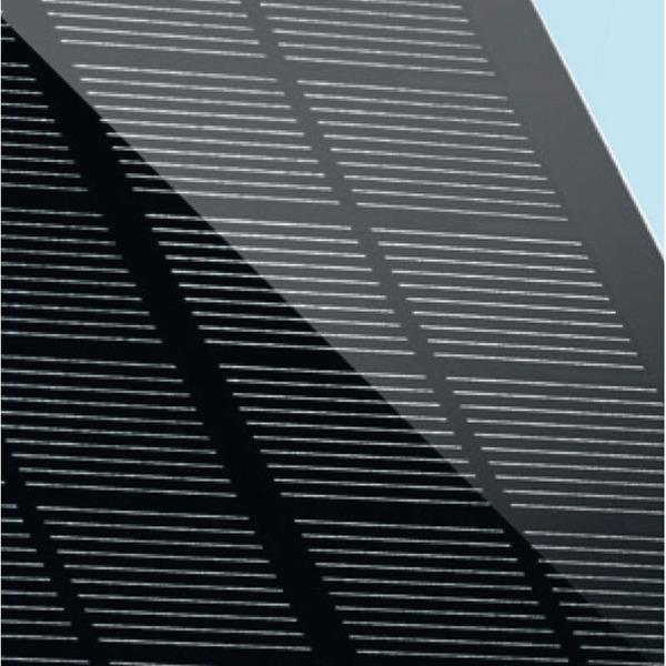 Steinel XSolar L-S Solar-LED-Außenleuchte, silber