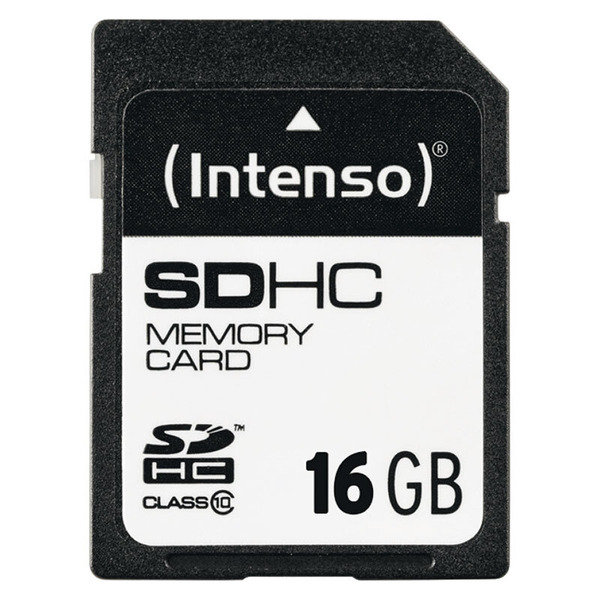 Intenso Speicherkarte SDHC, Class 10, 40 MB/s, 16 GB