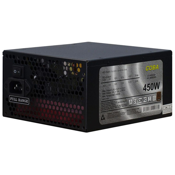 Inter-Tech ATX-Netzteil Coba CS-450 IT, 450 W