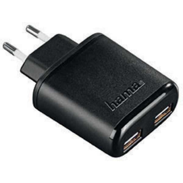hama USB-Dual-Ladegerät 5V / 4,8A