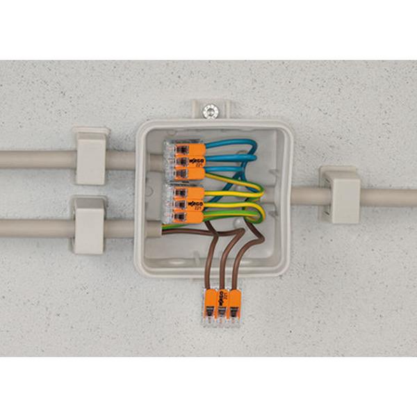 Wago 221-412 COMPACT Verbindungsklemme 2 x 4 mm²