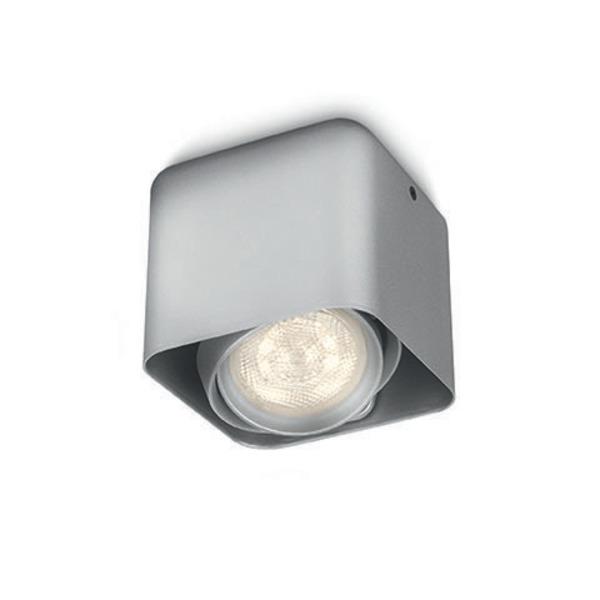 Philips Afzelia 4-W-LED-Deckenleuchte, alu