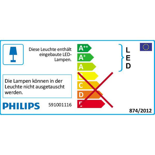 Philips SMARTSPOT SCEPTRUM 3er Set 3-W-LED-Einbauleuchten, chrom
