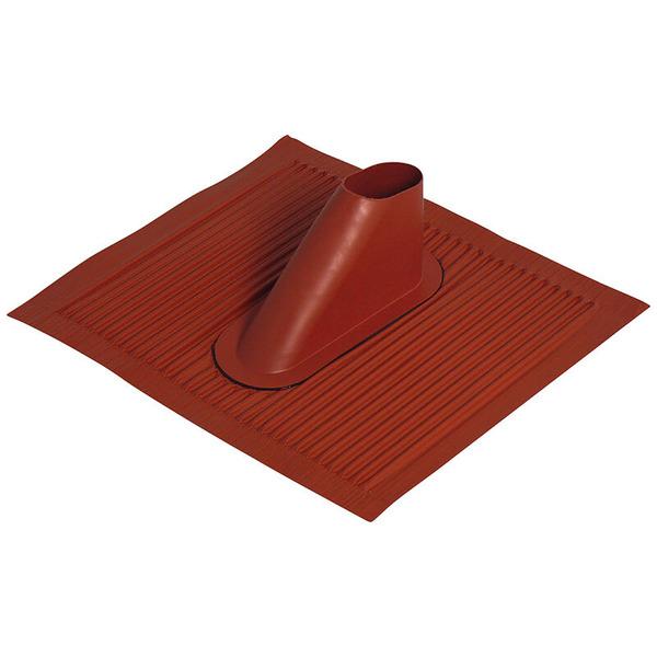 Satix Aluminium-Dachziegel, ziegelrot