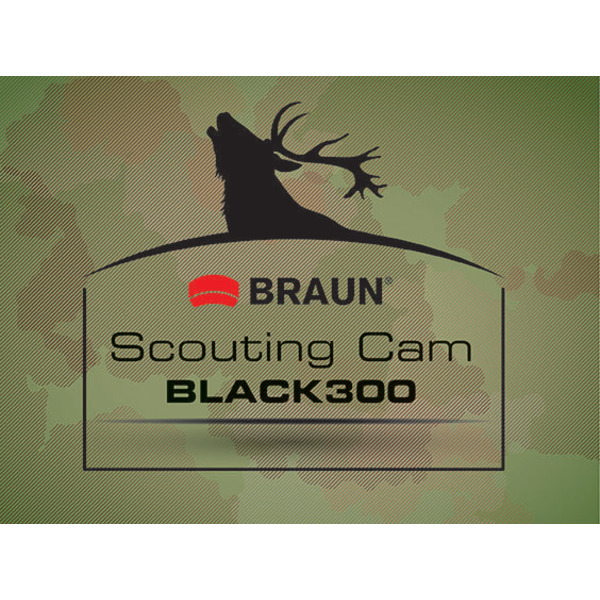 Braun Photo Technik Fotofalle/ Wildkamera Scouting Cam BLACK300