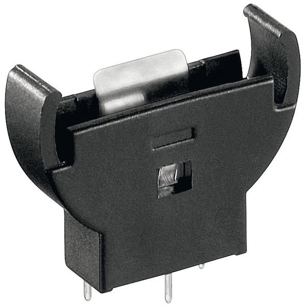 Goobay Knopfzellen-Halter Vertikal, PCB-Version