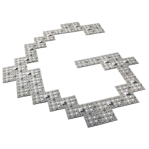 Lumitronix LED-Mini-Matrix 5x5, weiß, 24 V DC