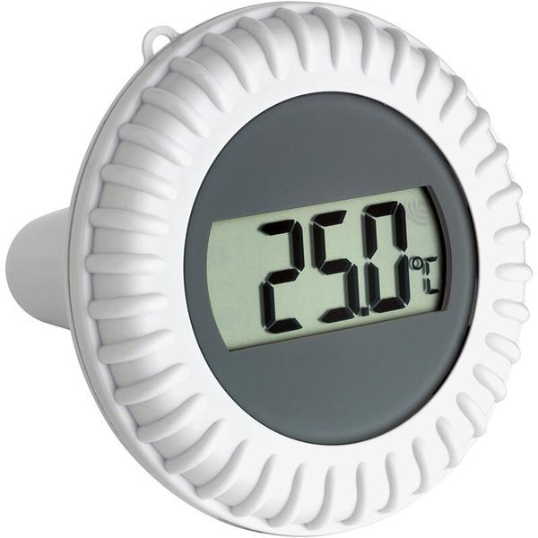 TFA Funk-Poolthermometer Malibu, inkl 2 Außensensoren (Pool und Außentemperatur)