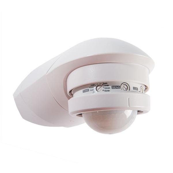 ELV 2er Set 360°-Bewegungsmelder mit Unterkriechschutz, fernbedienbar