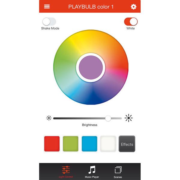 MiPow Playbulb Candle Bluetooth-LED-Tischlicht mit App-Steuerung, 3er-Set