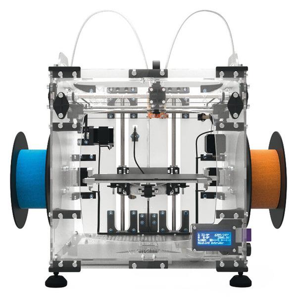 Velleman 3D-Drucker Vertex K8400 inkl. zweitem Extruder / Druckkopf, Bausatz
