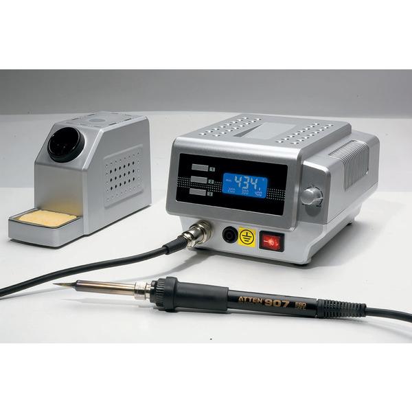 ELV Sparset mit Lötstation AT-80D, 80 W und LED-Lupenleuchte mit 1,75-facher Vergrößerung, 8 W