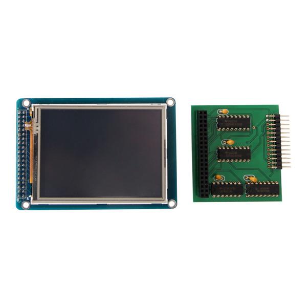 "Touchscreen-Display 8,13 cm (3,2"") für Raspberry Pi"