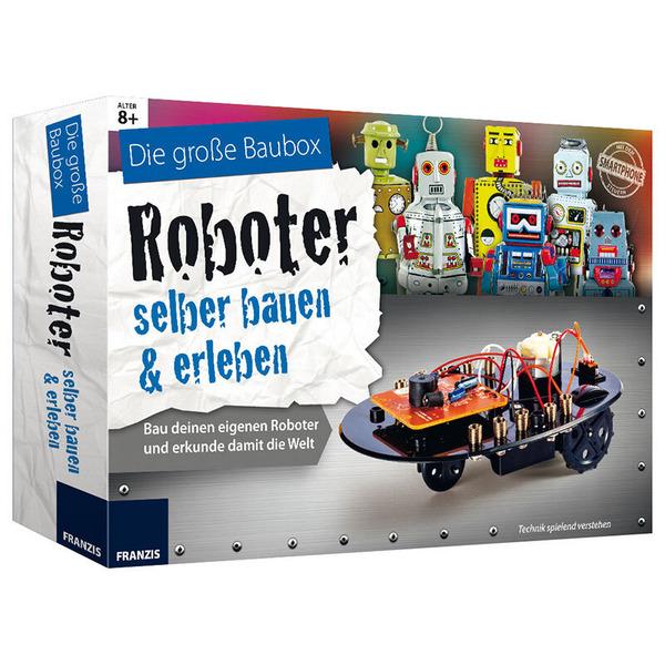 FRANZIS Die große Baubox - Roboter selber bauen & erleben