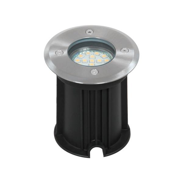 Ranex Bolton 3-W-LED-Bodeneinbaustrahler rund, IP65