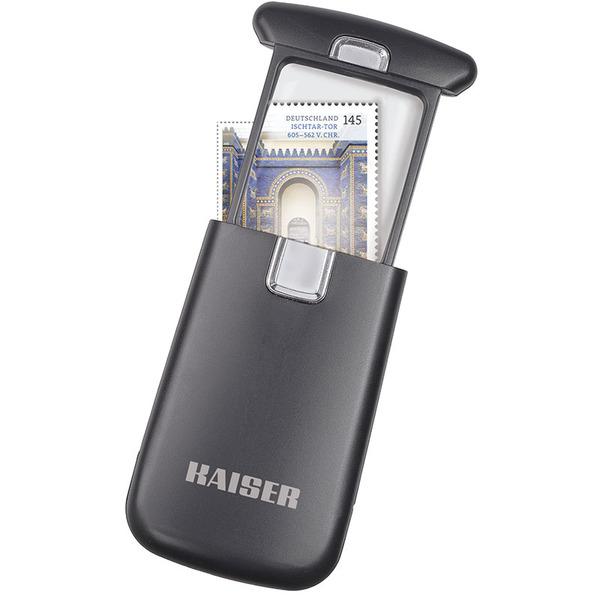 Taschenlupe mit LED-Beleuchtung, 3-fache Vergrößerung