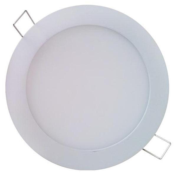 Shada 12-W-LED-Panel, 180 mm, rund, warmweiß