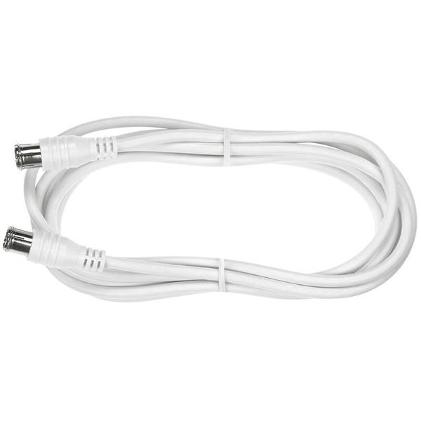 Axing SAT-Anschlusskabel mit F-Stecker SAK 151-00, Quickfix, 1,5 m