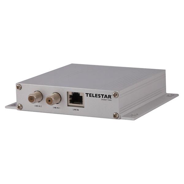 Telestar Sat-to-IP-Router Digibit TWIN für Satellitenempfang, IP-TV für 2 Teilnehmer