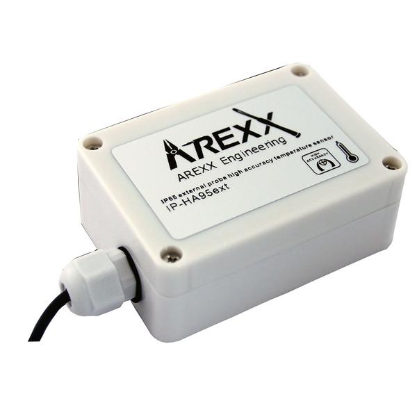 AREXX Funk-Datenlogger-System, Temperatur-Sensor, wasserfest, mit externem Fühler, IP-HA95ext