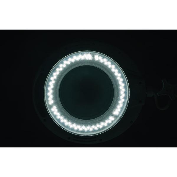ELV LED-Lupenleuchte, 1,75-fache Vergrößerung, 850 Lumen, dimmbar, wechselbare Linse