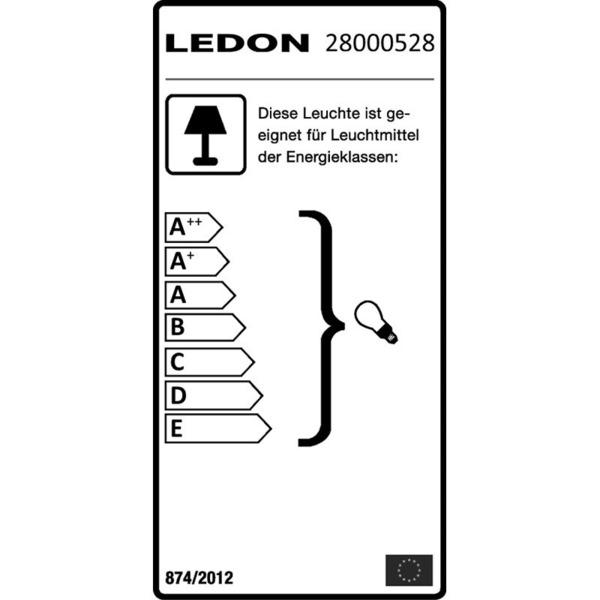 LEDON Einbaurahmen quadratisch für Ledon-Downlight, silber