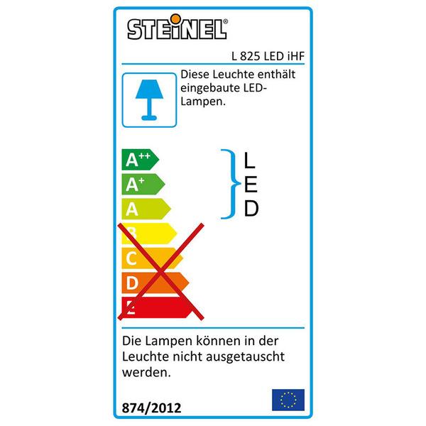 Steinel L 825 LED 12-W-Premium-Sensor-LED-Wandleuchte mit HF-Bewegungssensor, weiß