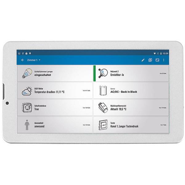"""EASY SmartHome Display 7 V4, IPS-Modell 17,78 cm (7""""), Statusanzeige mit Touchscreen, weiß"""