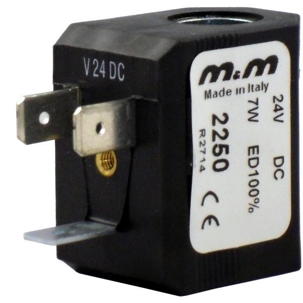 M & M International Magnetspule 2250, 24 V/DC