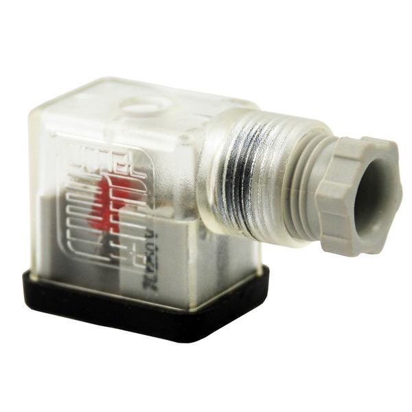Precon Gerätestecker B-12443-0126-OV mit LED, 70–230 V/AC
