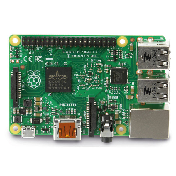 Raspberry Pi 2 B, 1 GB