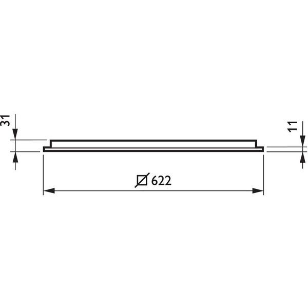 Philips Coreline LED 42-W-LED-Einlegeleuchte 620 x 620 mm, neutralweiß