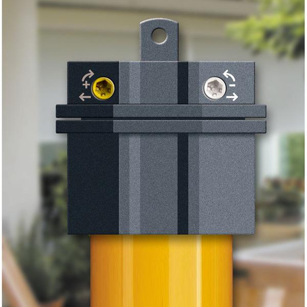 Schellenberg Mechanischer Rohrmotor STANDARD für SW60, 15 Nm