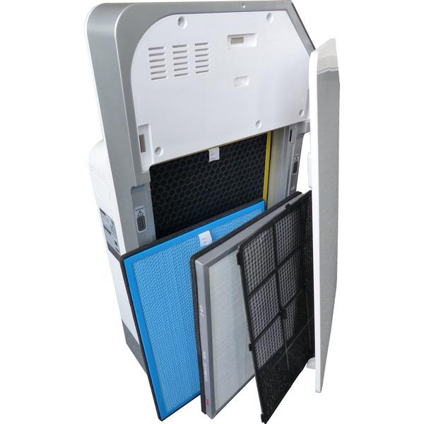 Aktobis Premium-Luftreiniger WDH-AP1101, schwarz, inkl. IR-Fernbedienung