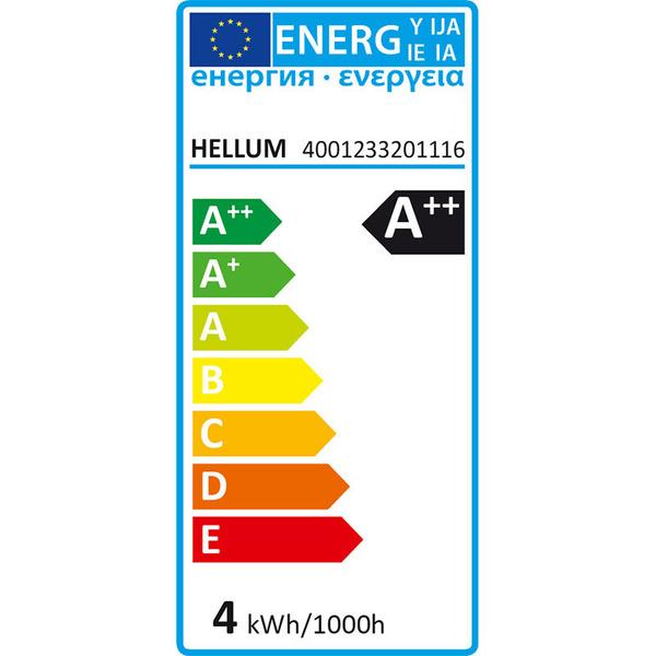 hellum 3,5-W-Filament-LED-Lampe E27, klar, warmweiß