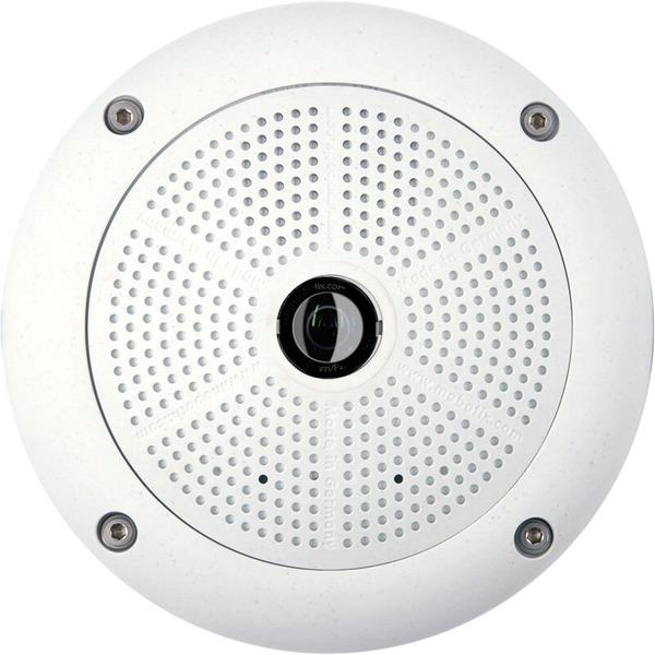 MOBOTIX 360° Dome-Kamera MX-Q25M-Sec-N12, Nacht-Sensor, hemisphärisch