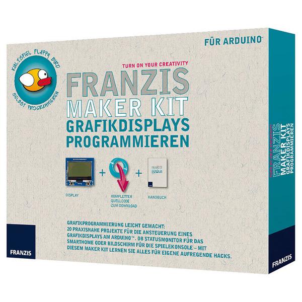 FRANZIS Maker Kit für Arduino, Grafikdisplays programmieren
