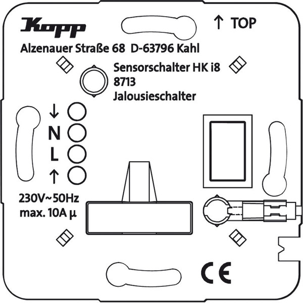 Kopp HKi8-Jalousieschalter/-taster