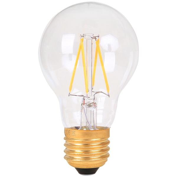 Girard Sudron 6-W-Filament-LED-Lampe E27, klar, warmweiß