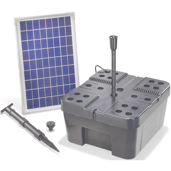 esotec Milano F Solar-Teichpumpensystem mit Teichfilter