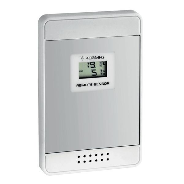 TFA Zusatz-Temperatur-/Luftfeuchtesensor für die Funk-Wetterstation MULTY