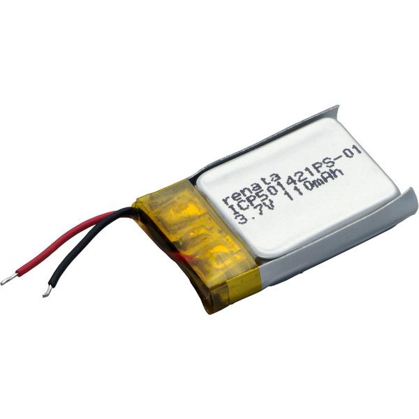 Renata Lithium Polymer Akku mit Schutzschaltung ICP501421PS 3,7 V 115 mAh