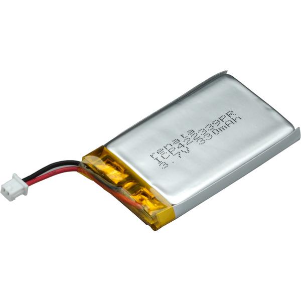 Renata Lithium Polymer Akku mit Schutzschaltung ICP422339PR 3,7 V 340 mAh