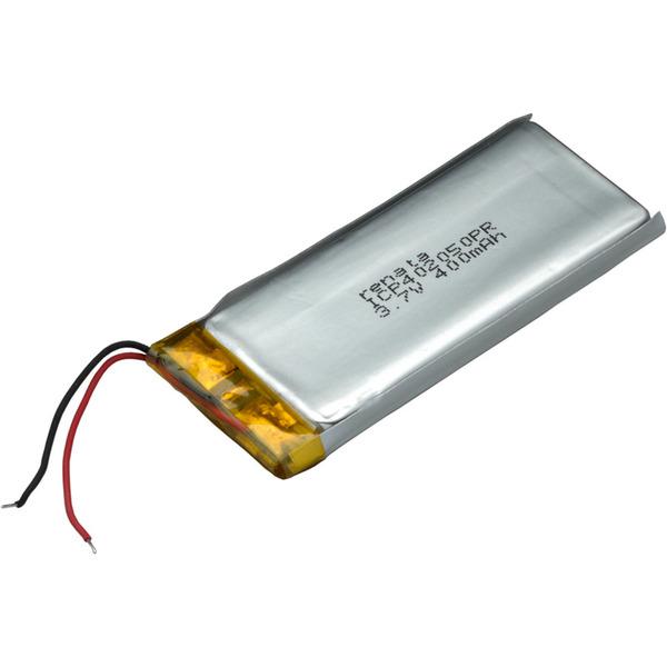 Renata Lithium Polymer Akku mit Schutzschaltung ICP402050PR 3,7 V 420 mAh