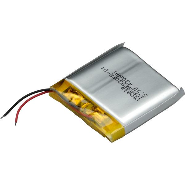 Renata Lithium Polymer Akku mit Schutzschaltung ICP582930PR-01 3,7 V 450 mAh